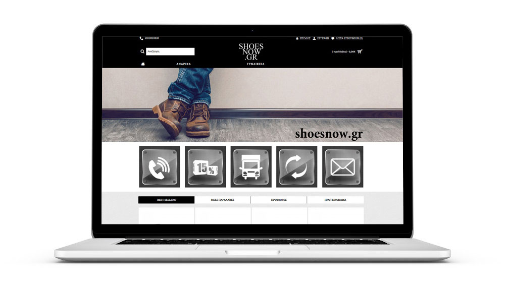 Shoesnow.gr preview